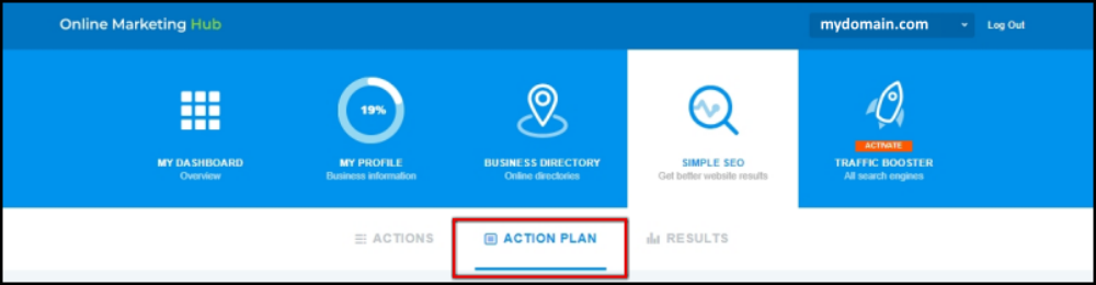 action plan page