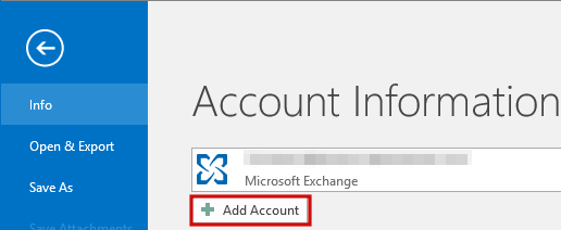 setting up outlook 2016 to check email step 1.B