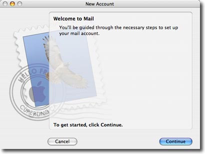 mac os mail setup step 2