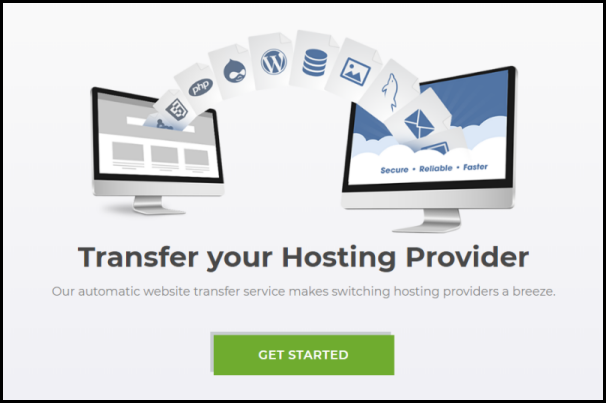 get started on hosting transfer with automatic transfer service
