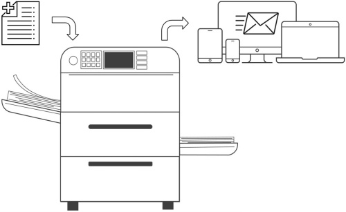 scan to email diagram