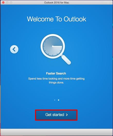 outlook 2016 setup for mac