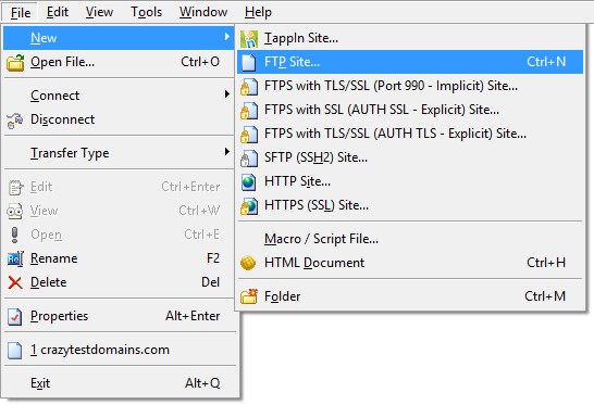 how to use cute ftp to upload image